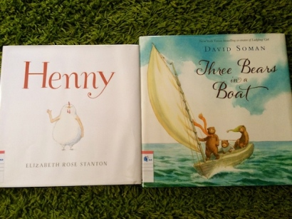 https://gatheringbooks.org/2014/12/18/sibling-bears-and-chicken-henny-somans-three-bears-in-a-boat-and-stantons-henny/