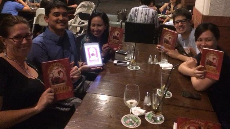 Saturday Night Out for Book Geeks - my book club with the young-at-heart.