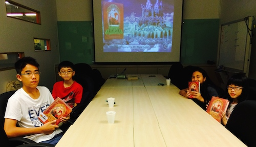 GatheringReaders at the Jurong West Public Library.