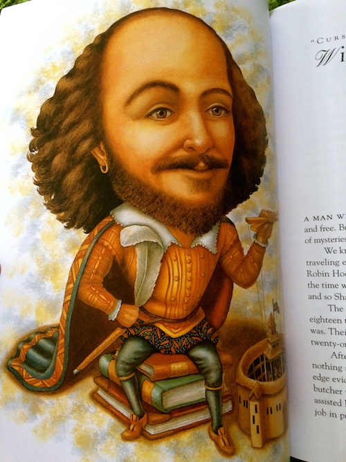 William Shakespeare as illustrated by Kathryn Hewitt