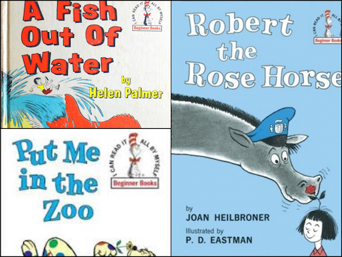 [Throwback Reads] Animals In Early Reader Series