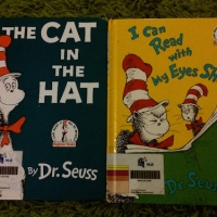 [Throwback Reads] Thing 1 and Thing 2 and Reading With Your Eyes Shut - Dr. Seuss Extravaganza