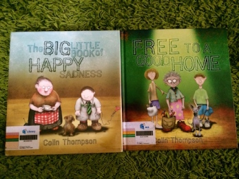 https://gatheringbooks.org/2015/04/20/monday-reading-old-people-in-colin-thompsons-picturebooks-the-big-little-book-of-happy-sadness-and-free-to-a-good-home/