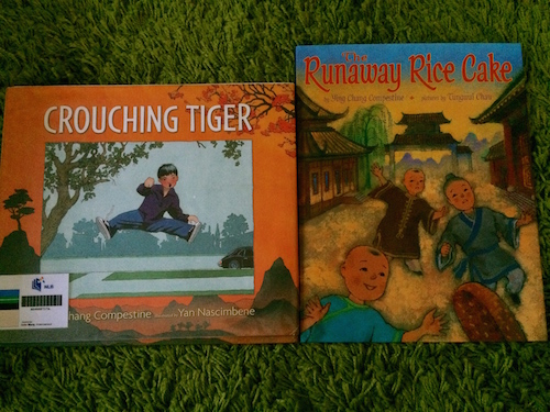 https://gatheringbooks.org/2015/05/18/monday-reading-ying-chang-compestines-picturebooks-crouching-tiger-and-the-runaway-rice-cake/