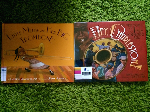 https://gatheringbooks.org/2015/07/08/nonfiction-wednesday-bebop-soul-and-jazz-in-little-melbas-big-trombone-and-hey-charleston/