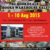 http://gatheringbooks.org/2015/07/25/saturday-reads-upcoming-book-sale-in-singapore/