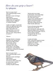 Poem and Artwork by Author