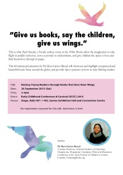 http://gatheringbooks.org/2015/09/26/saturday-reads-raising-young-readers-through-books-that-give-them-wings/