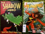 http://gatheringbooks.org/2015/09/21/monday-reading-increasingly-diverse-superheroes-in-comics-shadow-hero-and-miss-marvel-volume-3/