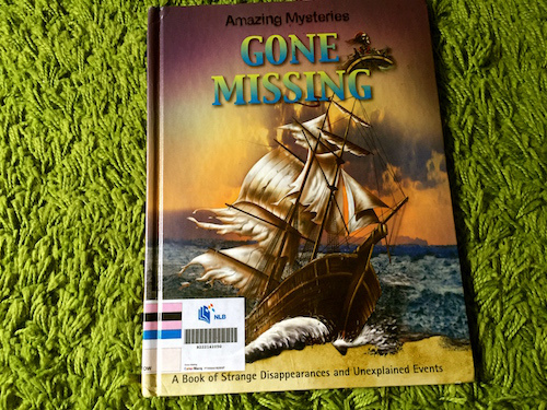 https://gatheringbooks.org/2015/11/25/nonfiction-wednesday-john-townsends-amazing-mysteries-series-unsolved-crimes-and-gone-missing/