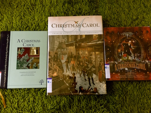 Three Artistic Variations Of Charles Dickens A Christmas Carol By Arthur Rackham Roberto Innocenti And Zdenko Basic Gathering Books