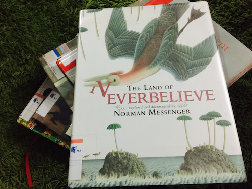 https://gatheringbooks.org/2016/02/13/saturday-reads-have-you-ever-been-to-norman-messengers-the-land-of-neverbelieve/