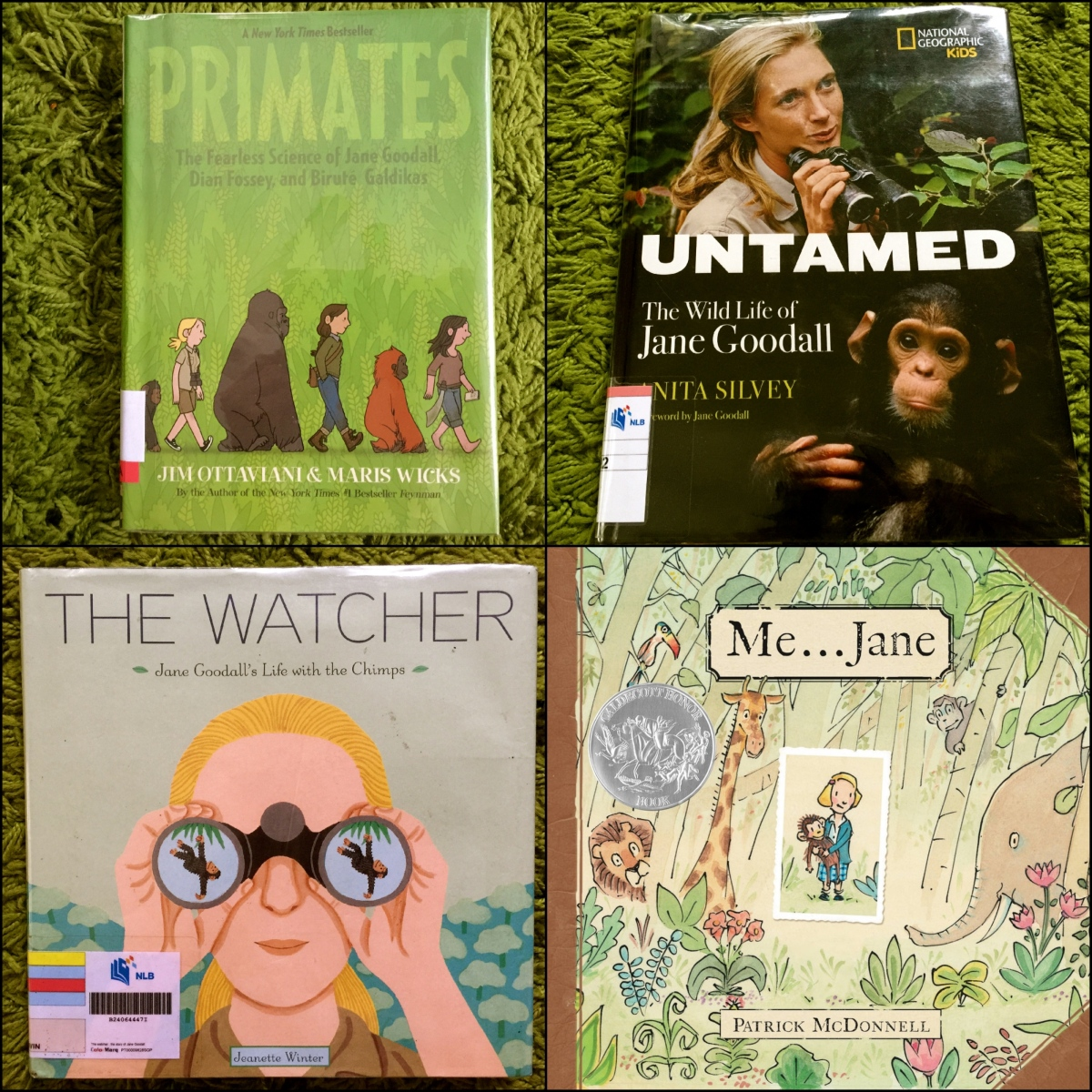 nonfiction wednesday  a jane goodall extravaganza  from