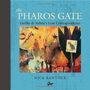 https://gatheringbooks.org/2016/07/30/saturday-reads-running-away-towards-love-in-the-pharos-gate-by-nick-bantock/