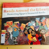 "[Nonfiction Wednesday] Protecting Egypt's Treasured Books in ""Hands Around The Library"""