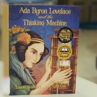[Nonfiction Wednesday] Unlocking Algorithmic Mysteries for the First Analytical Engine in Ada Lovelace's Picturebook Biography