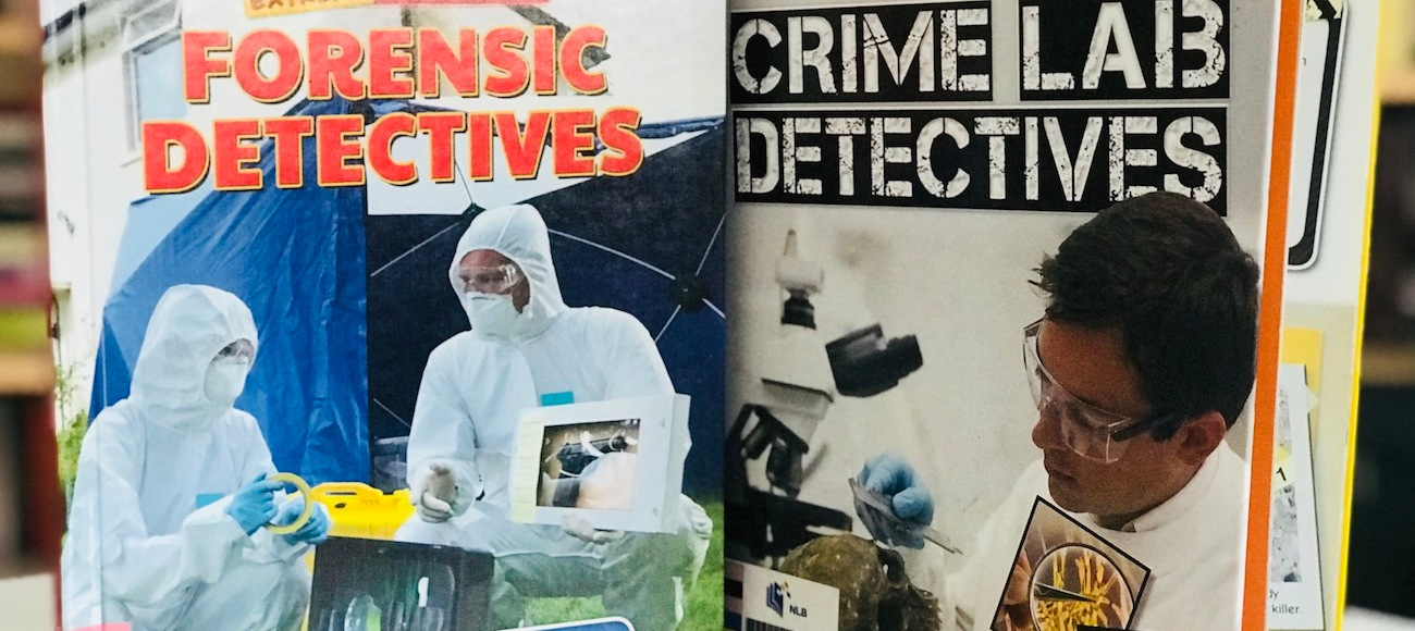 Nonfiction Wednesday] On Crime Lab Detectives and Forensic