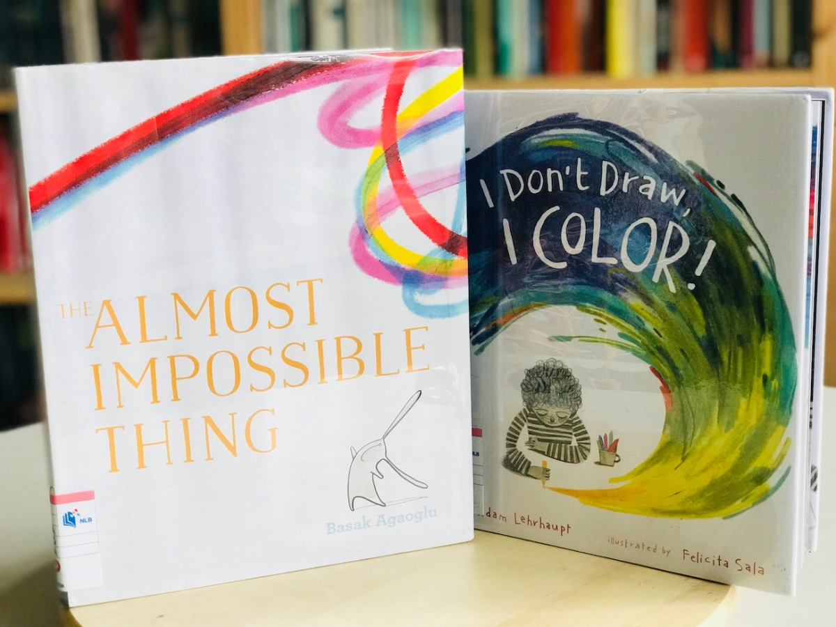 [Monday Reading] Swathes Of Colour in Picturebooks