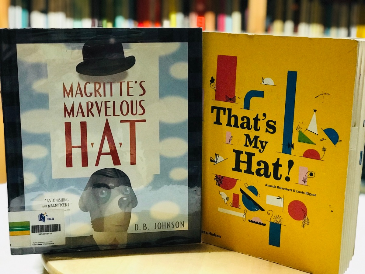 [Monday Reading] Missing or Floating Hats, Surrealism, and Pop-Up Art in Picturebooks