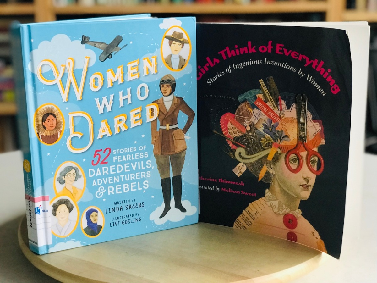 [Monday Reading] Women Who Dared Think Of Everything and a #WomenReadWomen2019 ReadAlong
