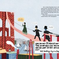 [Nonfiction Wednesday] Woman Saved the Bridge: The True Story of Emily Warren Roebling