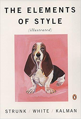 Book cover of The Elements of Style Illustrated