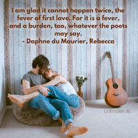 [Book Quote Tuesday] Fever of First Love as Captured by du Maurier