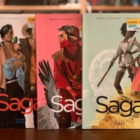 Preliminary Impressions of Saga by Vaughan and Staples