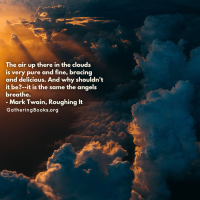 [Book Quote Tuesday] Breathe the same air angels breathe...